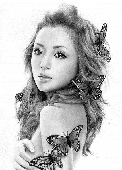 Девушка с розами картинка