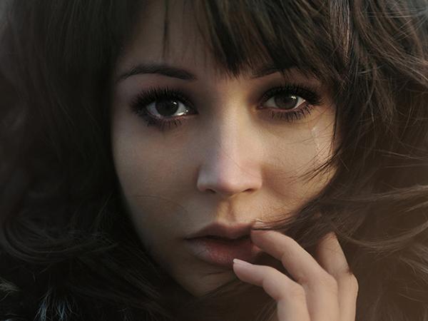 Глаза девушки фото картинка на аву