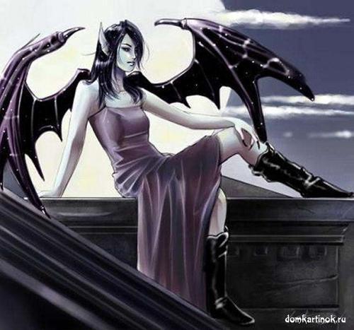 Девушки демоны дьяволы