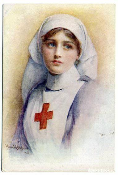 Самая красивая картинка девушка врач