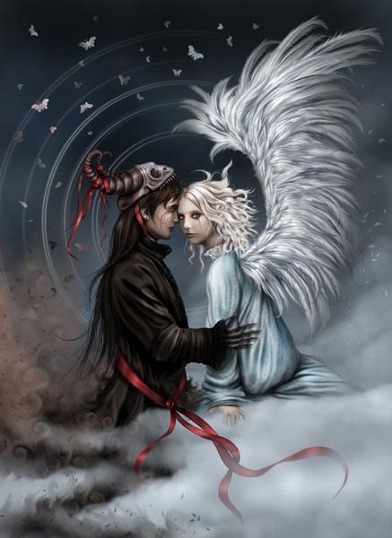 Самые сексуальные картинки на тему ангелы и демоны фото 640-177