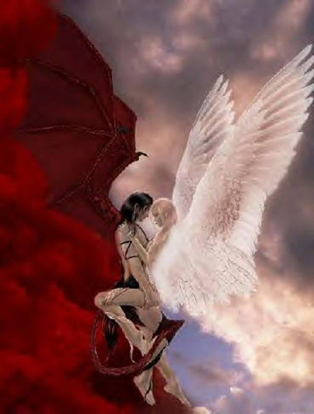 Демоны дьяволы ангел и демон
