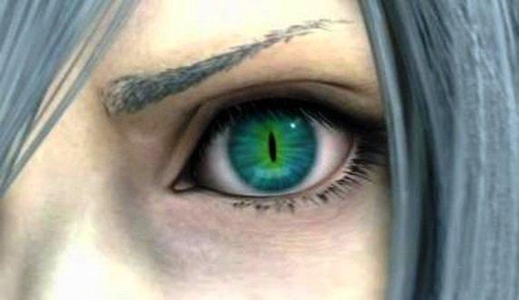 Картинки синие глаза девушки - 61e34
