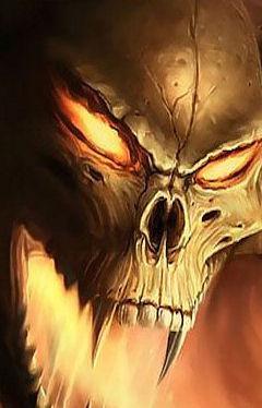 фото демона на аву