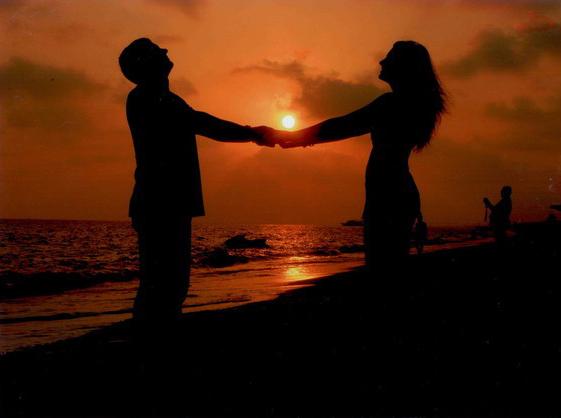 Она и он на пляже фото 85-745