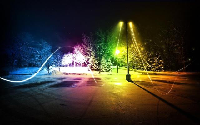 Картинка про вечер зимний вечер