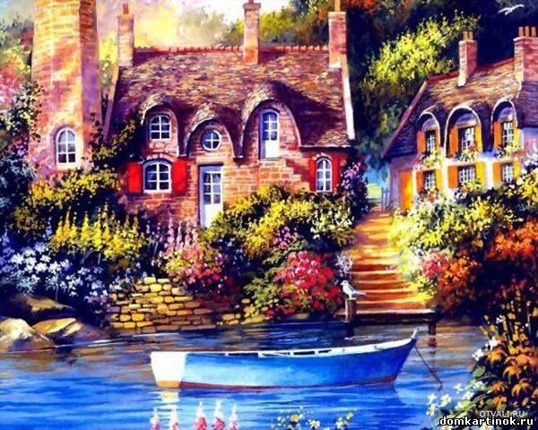 Картинка дома и домики красивые дома