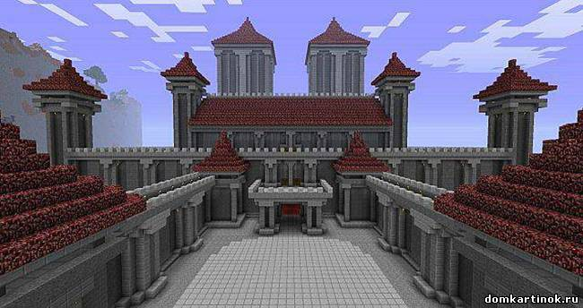 Красивые Дома В Minecraft Схемы Фото