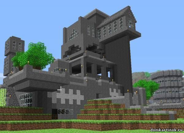 красивые дома в майнкрафт картинки
